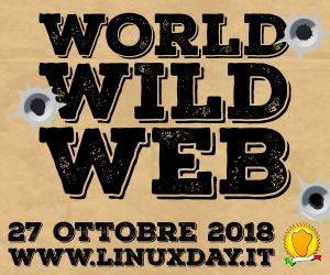 Banner evento linux Day 2018