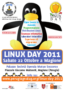 volantino linux day 2011